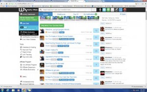 ScreenShot WA Chat page